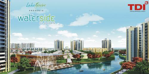 Tdi Lake Grove City Kundli Sonepat Waterside Floors Kundli Sonepat Properties Flats